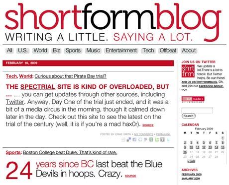 shortformblog